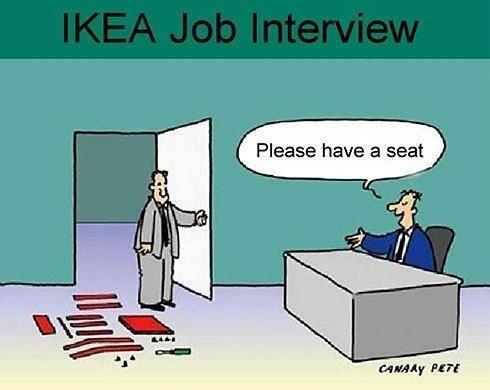 Ikea Job Interview http://t.co/ZwU92wjplA