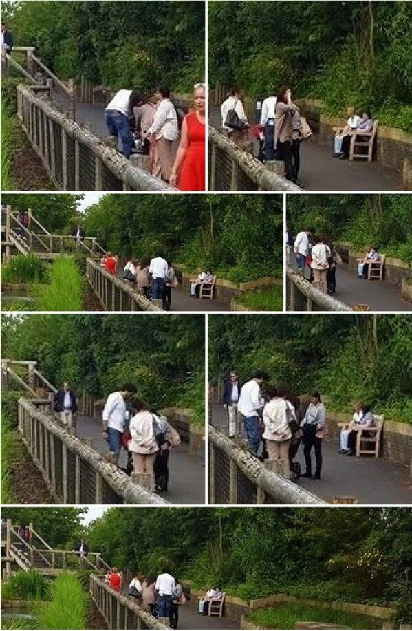 Aishwarya Rai and Abhishek Bachchan were at the ZSL London Zoo with daughter Aaradhya and mother Vrinda in tow. http://t.co/CJWX1veV6S