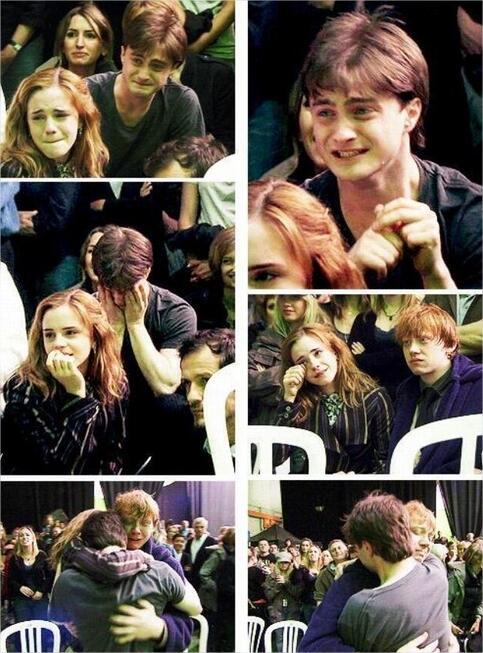 Hoy hace 4 años finalizó el rodaje de la saga Harry Potter, en medio de lágrimas, abrazos y muchos recuerdos! http://t.co/jnBf7FUiXD