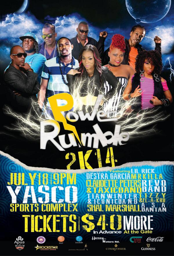Antigua! @destragarcia will be heading your way on July 18th for POWER RUMBLE http://t.co/rtDH9voG4u