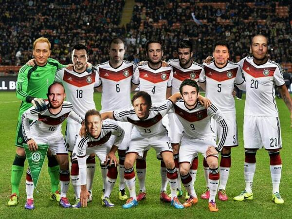 Let me introduce.. The German team! http://t.co/xm4nzAGKfz