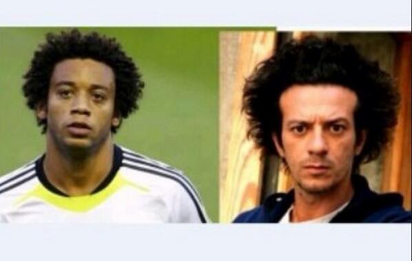 Ma #marcelo autore del 1 goal  è il gemello di @FicarraePicone ? #CoppadelMondo lo hanno già detto tutti ?? http://t.co/i3W8PbUd5u