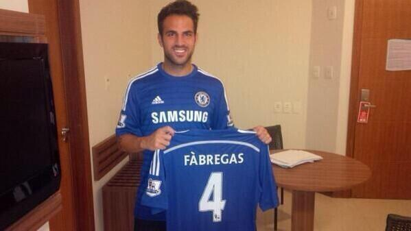 Fabregas oficialmente es del Chelsea, que opinan los gunners? http://t.co/MX8xCdUx8F