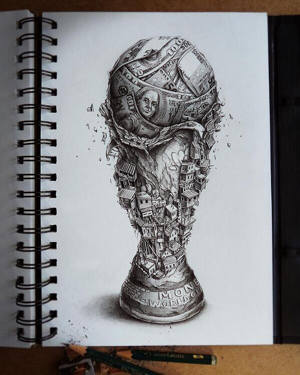 #WorldCup art ;) http://t.co/Kd9EEIFnlL