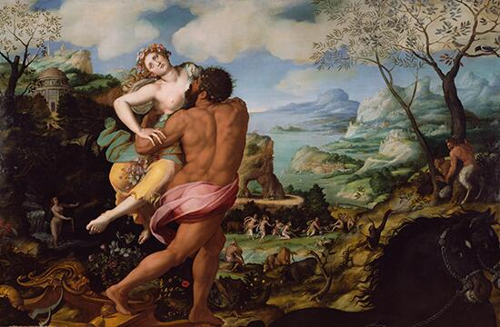 Happy birthday Alessandro Allori! Son of sword maker was prolific late 16th-c Florentine painter. Proserpine 1570 http://t.co/YEnSksooF3