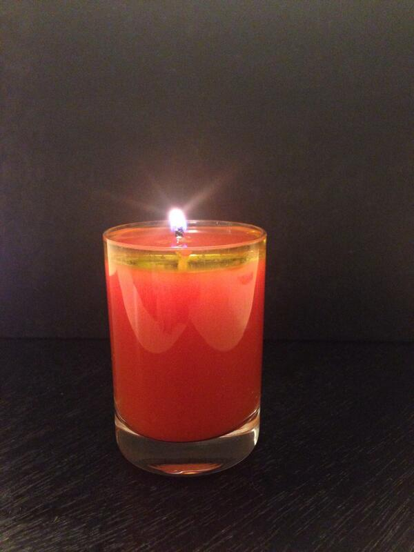 And yes. The gazpacho candle is edible. http://t.co/P7i45AHSMk