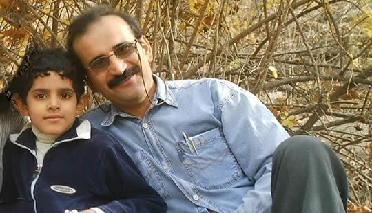 Gholamreza Khosravi, political prisoner, father, was executed this morning. We failed. RIP #Iran #HumanRights http://t.co/nu3sSY7Oqx