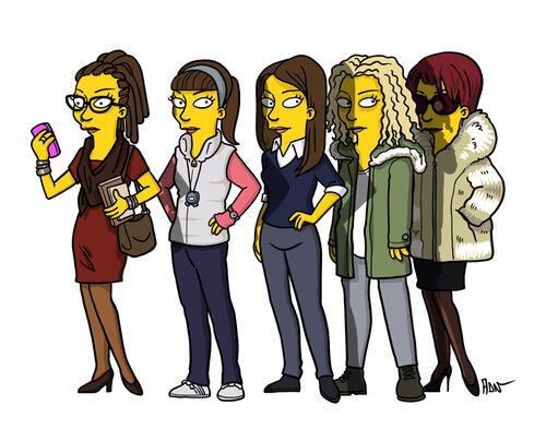 Orphan Black via The Simpsons: http://t.co/ekDTpMrTmQ