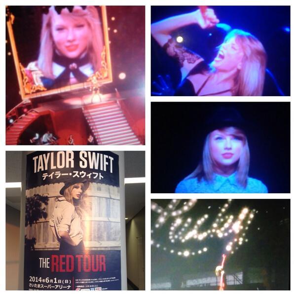 #TaylorSwift #RedTour !!! テイラー最高♪───O(≧∇≦)O────♪ #RedTourJapan #TaylorSwiftRedTour #REDTOURTOKYO #Taylor来日 #music http://t.co/p5RT4MCE6g