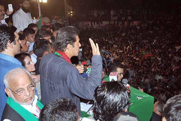 Imran Khan's protests are at least keeping the federal government on its toes and performing? http://t.co/wEN4LGbkTq http://t.co/933SQwcOBf