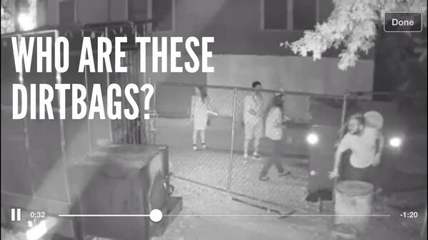 Help identify the dirtbags who broke in and tipped over the port-o-let @la_Barbecue #austin #crime #dontmesswithbbq http://t.co/n8nth1GI7C