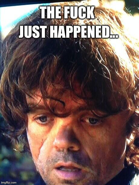 Well that escalated quickly... #TheMountainandTheViper #GameOfThrones http://t.co/DXcS2lvVKo