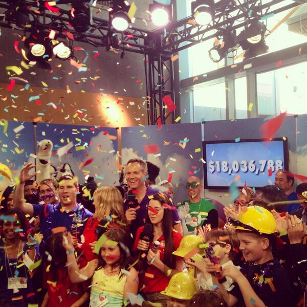 You did it, BC! Together, you raised $18,036,788 for #BCCH! Help us retweet this amazing news! #MiracleWeekend http://t.co/2oiayAWpeS