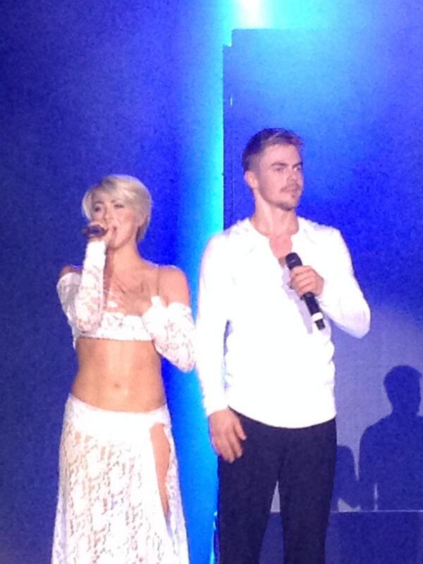 Derek And Julianne Hough Dance Tour Cities
