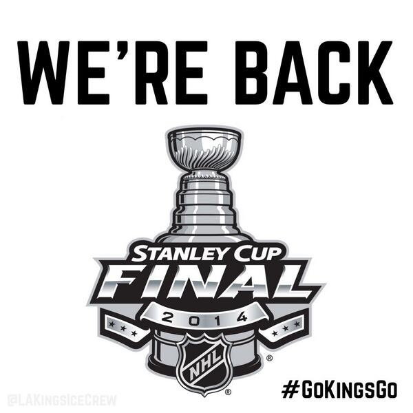 STANLEY CUP FINALS HERE WE COME!!!!! #GOKINGSGO http://t.co/mhinjqIiTl