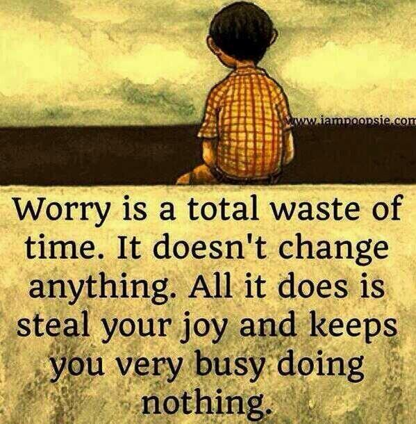 Worrying doesn't change anything. #justsaying #haveaproductiveweek x http://t.co/ZZml1vldZs