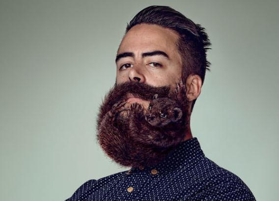 男性の髭が動物の形に整えられている。恐ろしい出来映え。http://t.co/AV8USdEO2v http://t.co/3jt3wPtdH1 via @HuffPoLifestyle