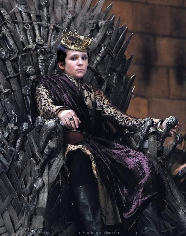 Froilan for the Iron Throne http://t.co/bvaKNr6BxM