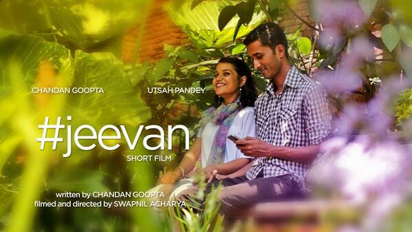 #JEEVAN Short movie - Coming soon. Best wishes @chandangoopta :)) http://t.co/D5FScOcy2L