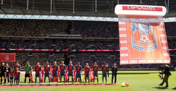FOLLOW & RT this for a chance to win the giant Crystal Palace flag used at Wembley during the 2013 Play-Off Final! http://t.co/mN1Zlf2uY6