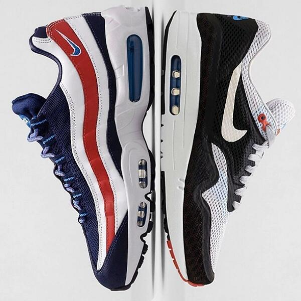 Nike pays tribute to London with this pack of Air Maxs releasing this weekend. http://t.co/R6iAugKmx8