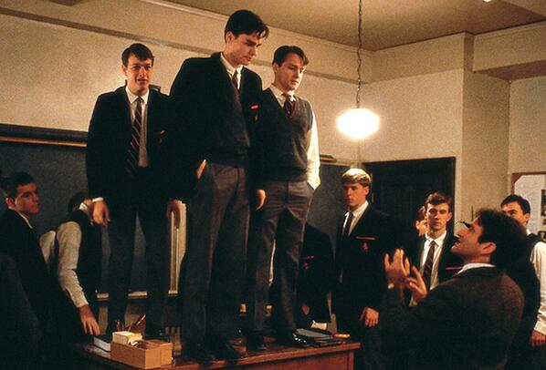 In honor of Dead Poets Society's 25th Anniversary, we look back on our favorite preppy icons. http://t.co/FANfU0enbJ http://t.co/SCbZT2tSgA