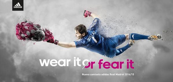 La más admirada. La más temida. @realmadrid @CasillasWorld #allinrealmadrid http://t.co/oYWSn5mr4P