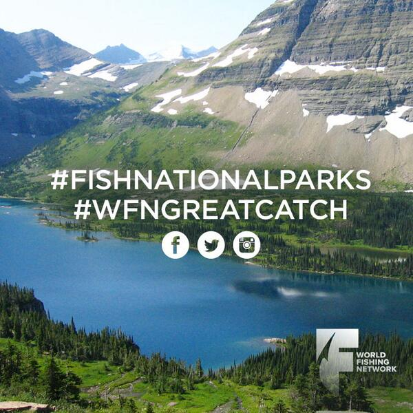 It's National Fishing & Boating Week – Use #FishNationalParks #WFNGreatCatch to share your fishing pictures with us! http://t.co/c4tAVweHZn