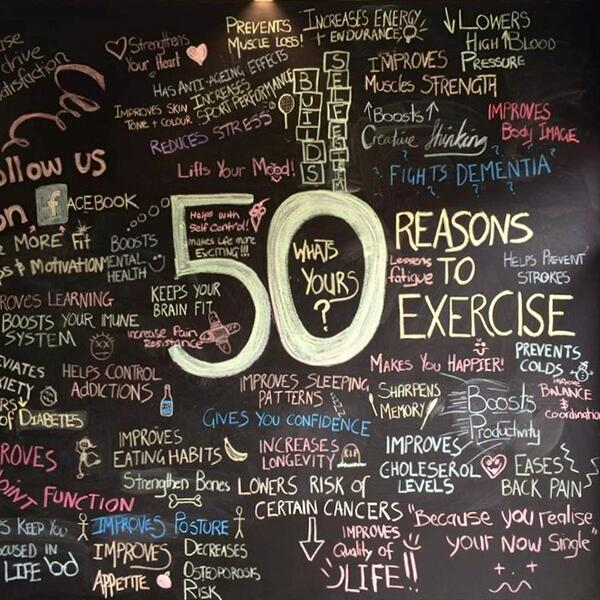 What's your reason to exercise? http://t.co/kISIOIn83V