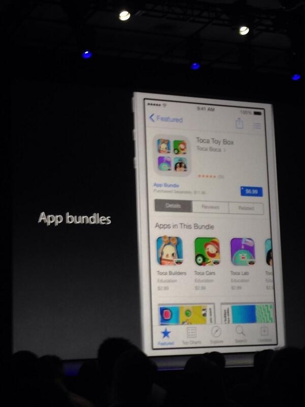 App bundles and @tocaboca mention at #wwdc ! http://t.co/7eP29rQxoX