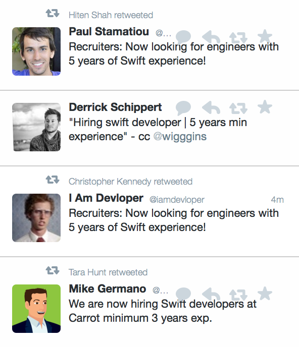 Swift with the jokes. http://t.co/5FHrNG43BJ