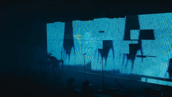 Screenshot taken from my Antwerp footage (The Great Destroyer) #nin2014 http://t.co/Km1oX3SdUy