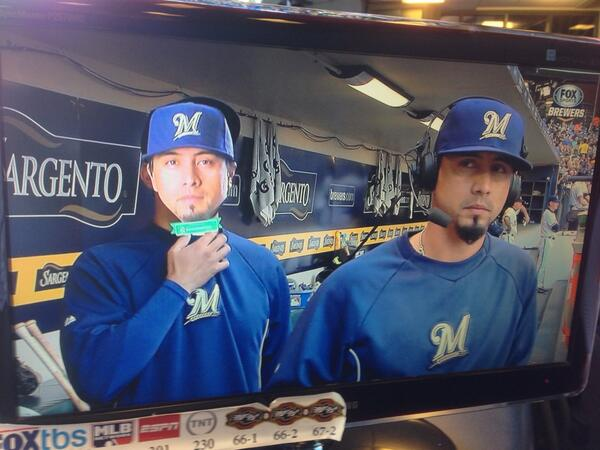 #Brewers lucky enough to now have two Kyle Lohses. http://t.co/i3RN2MWC8s