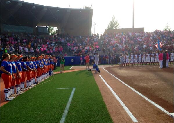 . RT @NCAAsoftball: National Anthem time! The moment we've been waiting for is ALMOST here... #WCWS http://t.co/OzmKtYKo4i