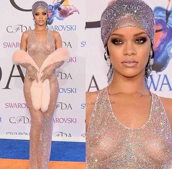 News: Rihanna right now in NYC at awards looking amazing ❤️ http://t.co/2674doLlMl