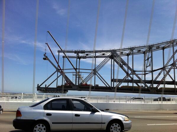 Bay Bridge Falling Down, Falling down http://t.co/BmbaDIQ9AY