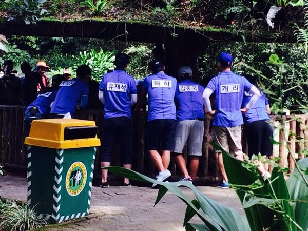 "SERU BANGETTTT AAAAA ""@/vemytasaskia Spotted you at Taman Safari Indonesia, Running Man!"