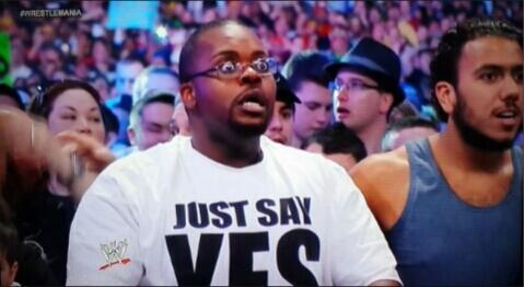 Rollins has me like.. #RAW http://t.co/AHHJIxBEZd