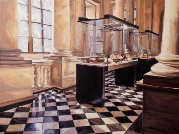 @MuseeLouvre Here is my ode to your #beauty Musée du #Louvre! #painting #art http://t.co/VaqP4vjVey