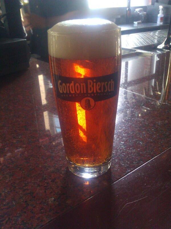 $2.50 pricing on all Gordon Biersch drafts today. Who said you had to wait to the weekend to have fun? #beer http://t.co/8JVN4yGzQc