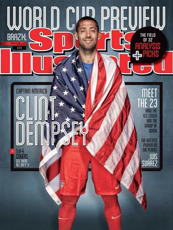 BpOeY jIMAA7EvP Messi, Ronaldo, Suarez and Dempsey feature on collectible World Cup covers of Sports Illustrated [Pictures]