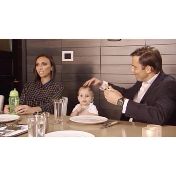 Watching! Loving the green straw cup :) MT @GiulianaRancic: We review the new menu for RPM Steak on #GandB! http://t.co/4ochL09NdH