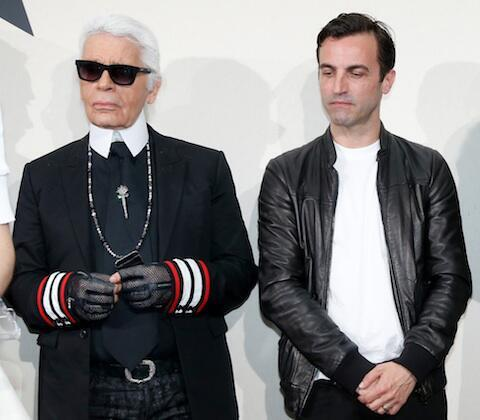 The EPIC collaboration of the Century: Karl Lagerfeld of Chanel for Louis Vuitton soon this fall http://t.co/kVBJXybzgJ