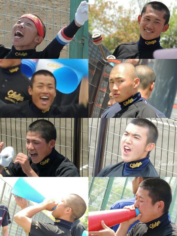 """@Iambanekko: 親善試合 中京大中京-大府 応援など裏方で選手を支え続けてきた部員達の晴れ舞台。 http://t.co/DS4tmVAXKm"" 今日は父兄として、応援に行きます‼︎‼︎( ̄▽ ̄)"