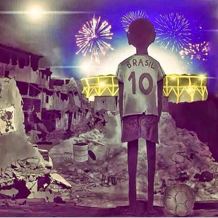 Un Niño De Brasil Dibujo Esto..!! http://t.co/yhWaujbn3n