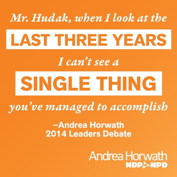.@andreahorwath: @timhudak when I look at last 3 years I cant see single think youve accomplished #voteon #ondebate http://t.co/hRiQAlyyIX