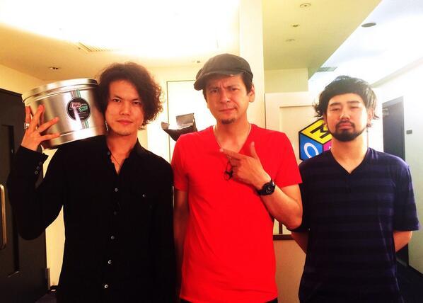 【GGTV:収録】昨日、収録を行いました!1組目のゲストは9mm Parabellum Bulletより菅原さん&滝さん!バンド結成10周年のこと、7/9リリースのベストアルバムのこと、たくさんお話しいただきました!7月オンエアです! http://t.co/Z1uejQp2Di