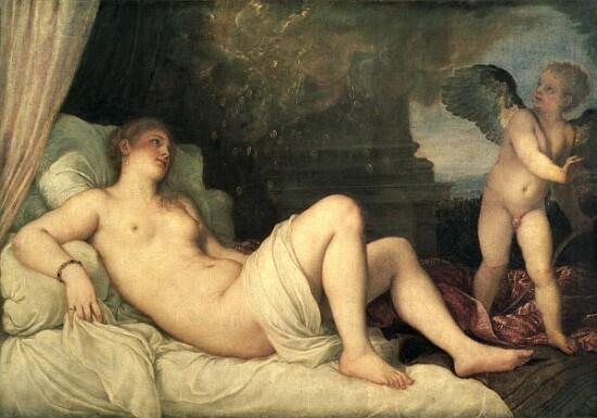 • #Danae, #Tiziano #Vecellio, 1545, #Napoli • @Biagio960 @JoaquinV_ @SpecialeNews @storiedellarte http://t.co/N3sN5lxSJU