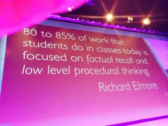 We overwhelmingly teach skills needed for jobs that are rapidly vanishing according to Ian Jukes #EduTECH http://t.co/YHJV8leDhg
