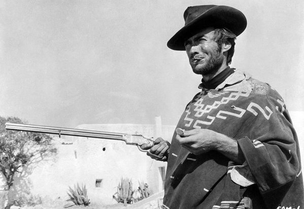 #DailyFilmPhoto: The man with no name is back... Clint Eastwood in FOR A FEW DOLLARS MORE (1965) from Sergio Leone http://t.co/vm0yej6yIo